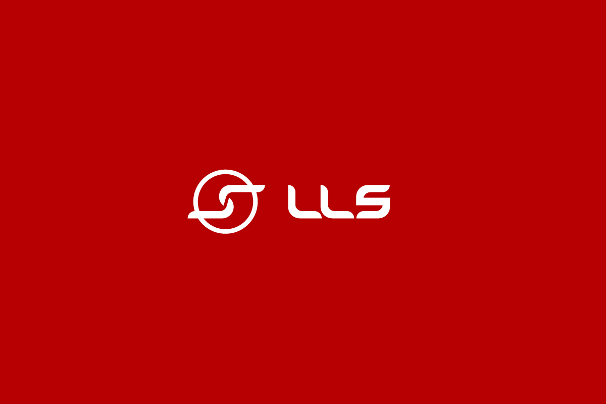 LLS Logo on Red