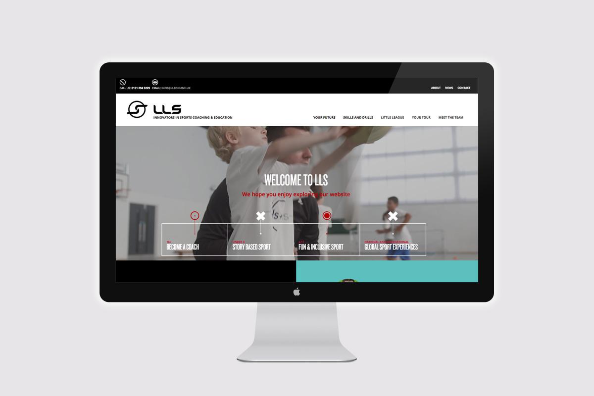 LLS Web Branding Example