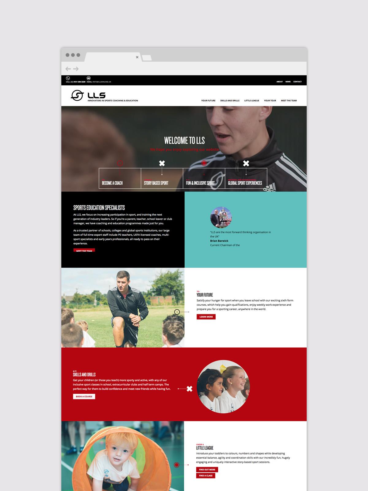 LLS Web Page