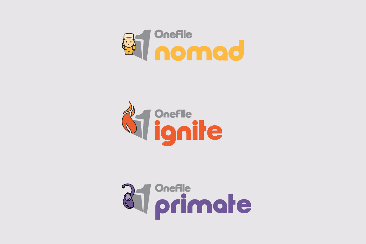 OneFile Logo Examples