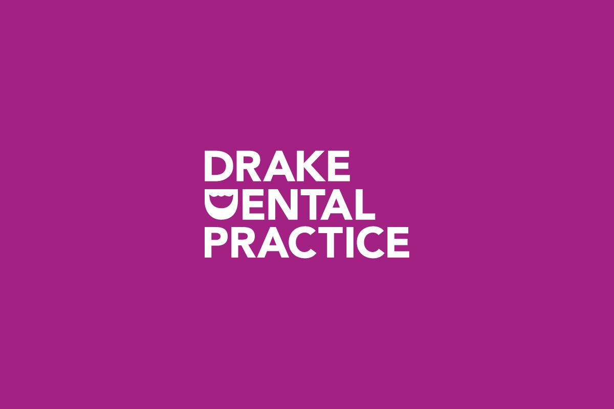 Drake Dental Practice Logo - Pink