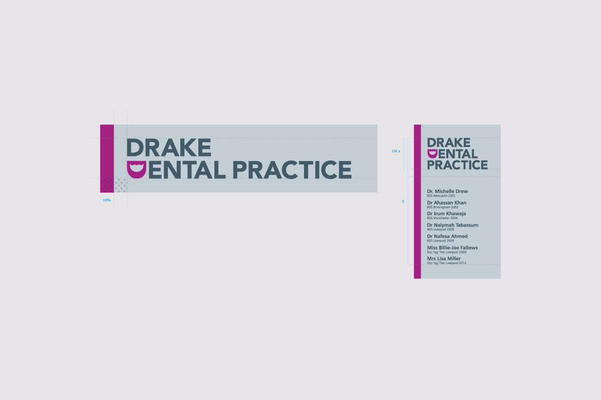 Drake Dental Practice - Graphic Design Portfolio