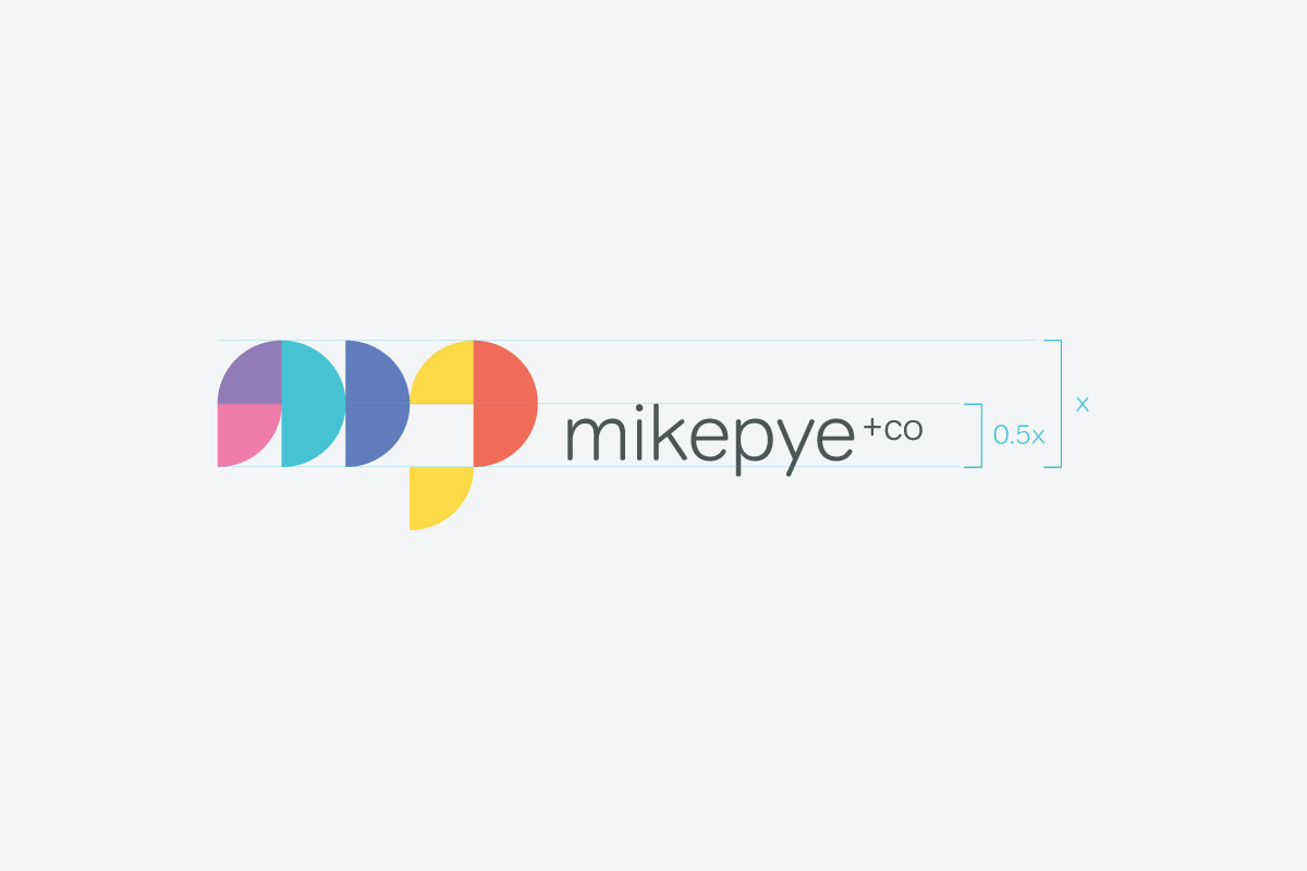 Mike Pye Agency Logo Design Example
