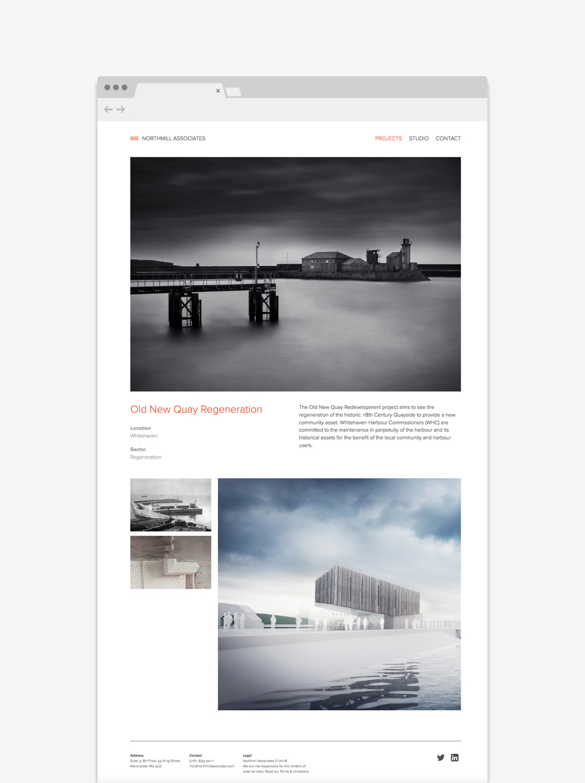 Northmill Associates - Website Design Example