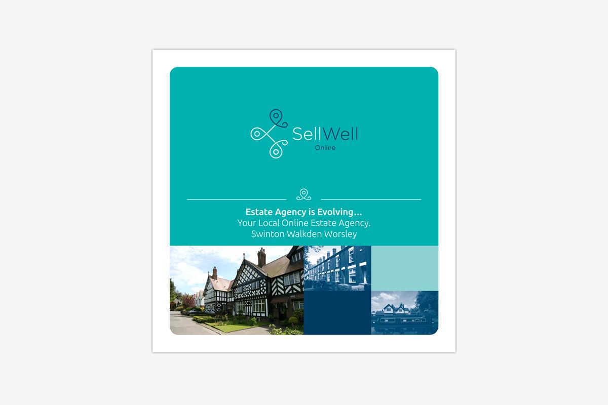 SellWell Online Estate Agency Branding