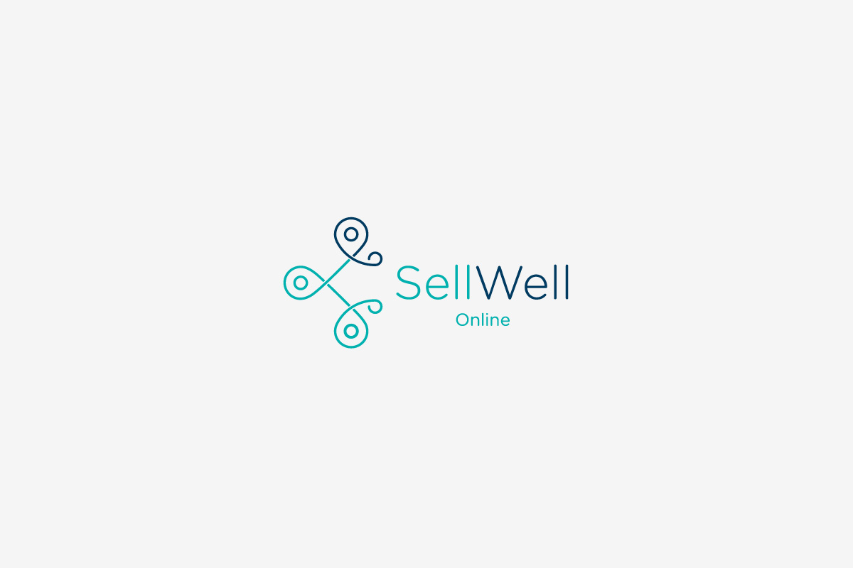 SellWell Online Logo on White