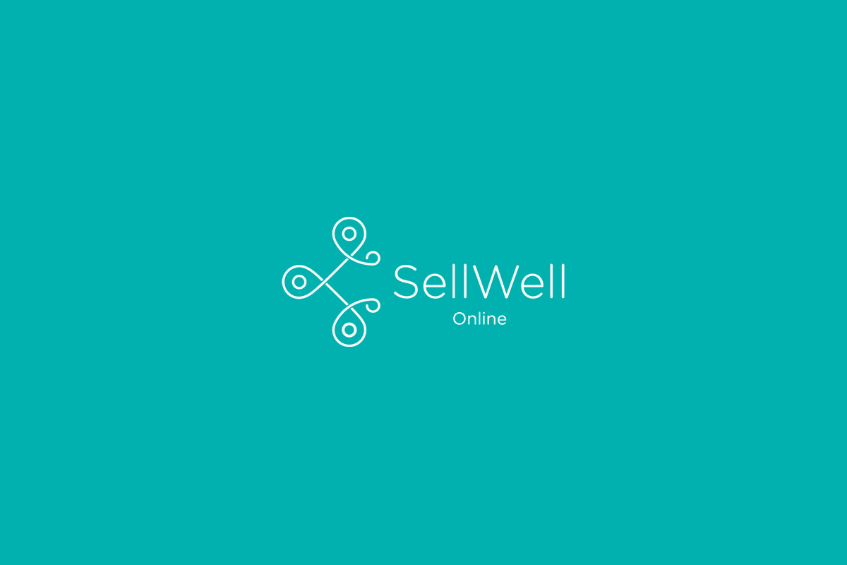 SellWell Online Logo Design