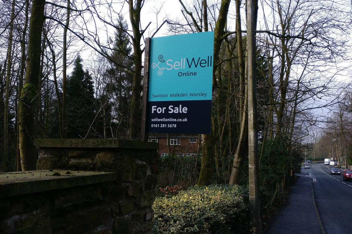SellWell Online Estate Agent - Branding and Graphic Design