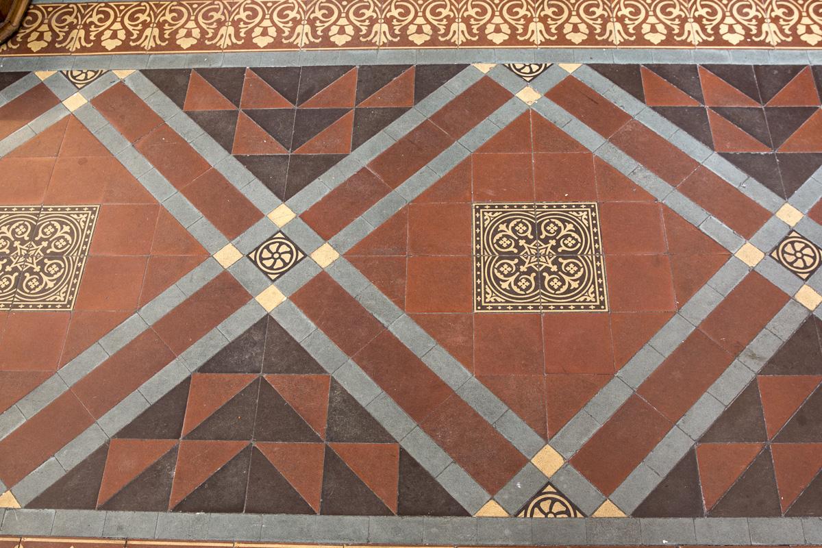 St Peter's Congleton Floor