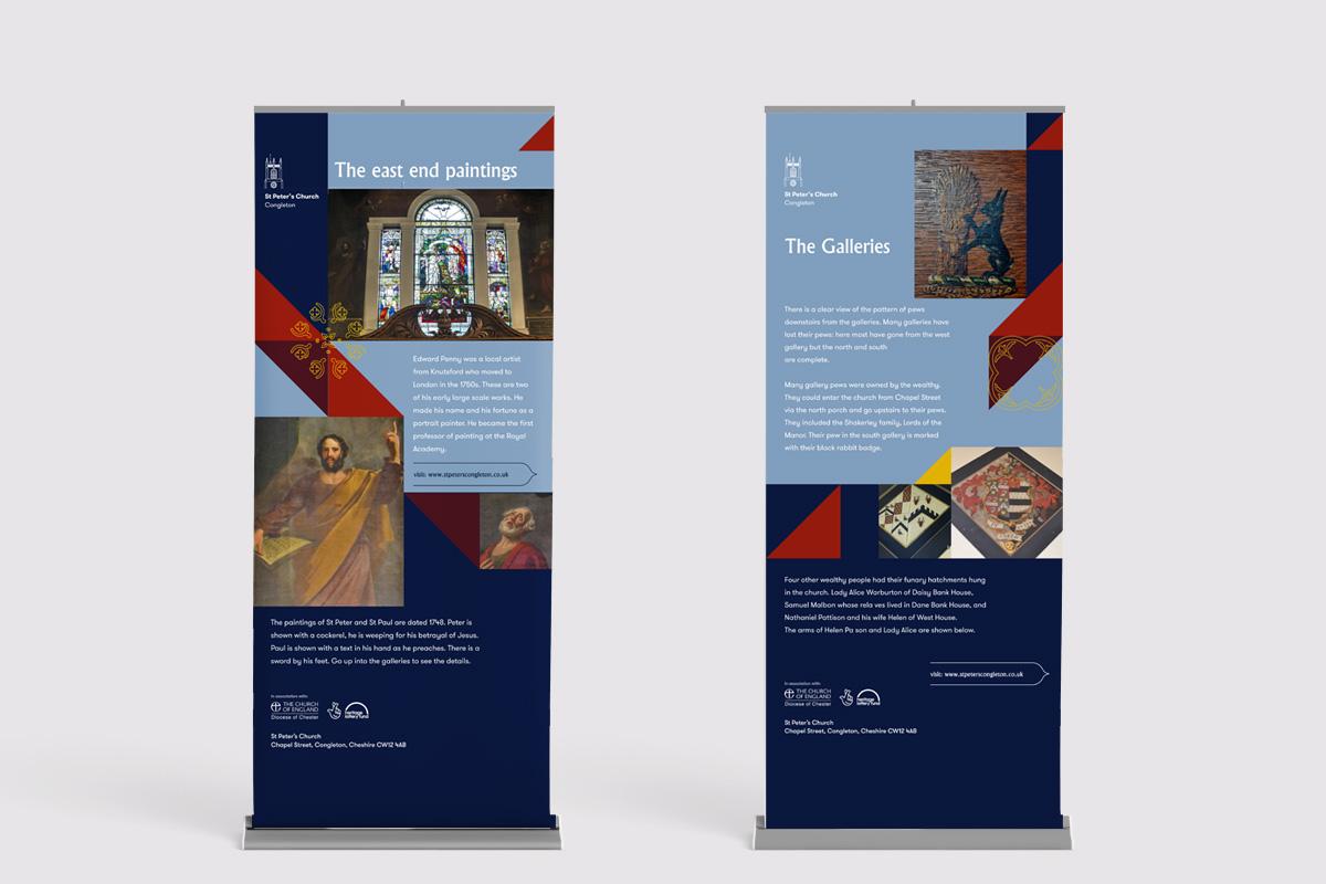 St Peter's Congleton Branding & Stand Design